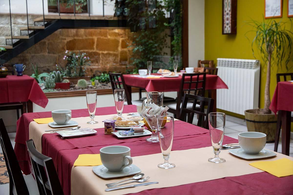 Hostal Santo Domingo de la Calzada - Comedor y cafetería